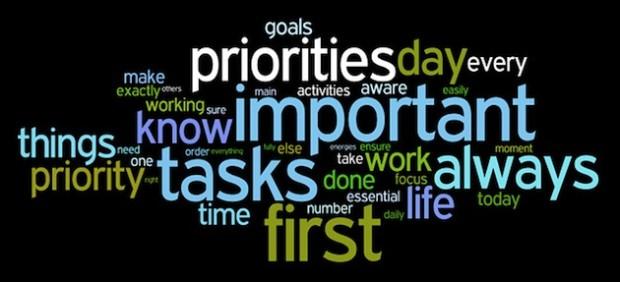 Prioritizing and Deadlines